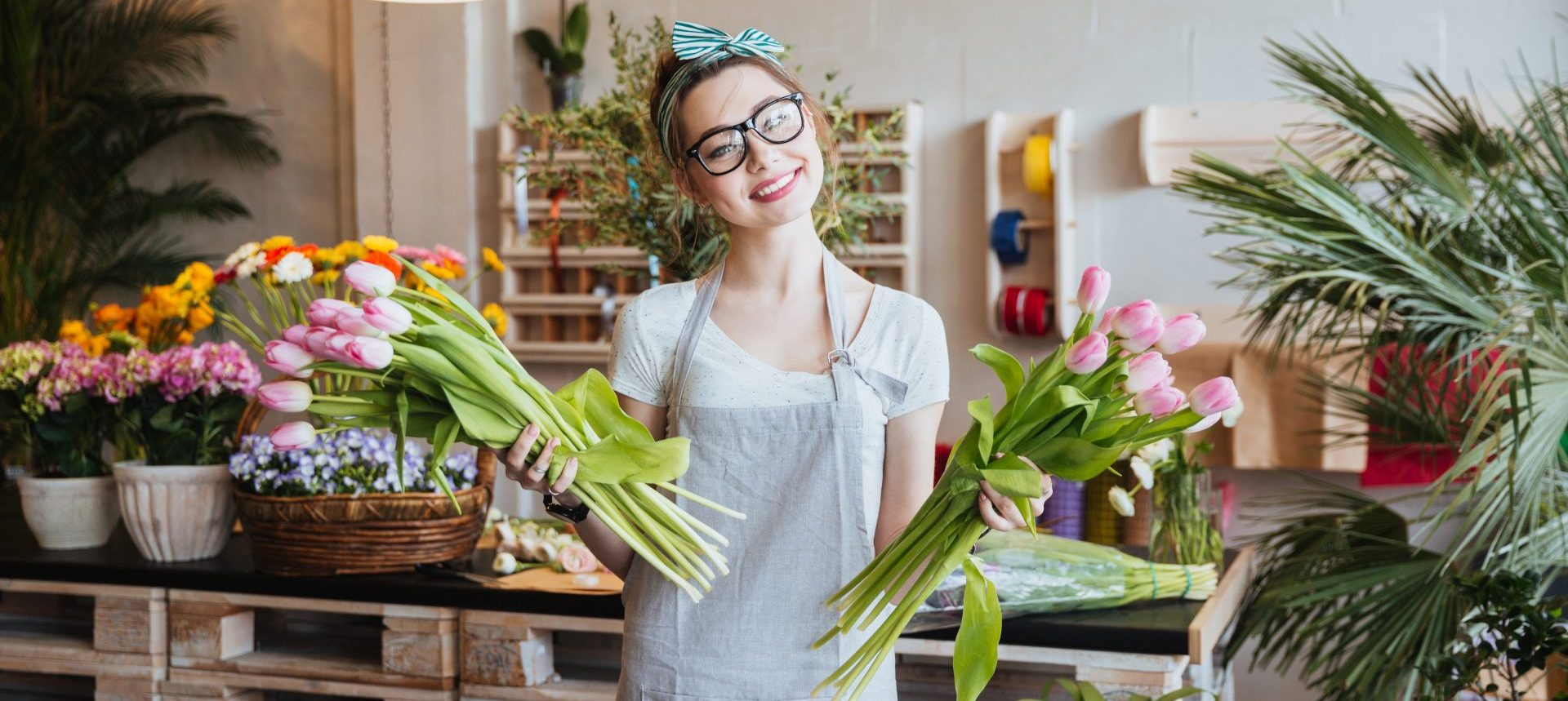 dame tulpen roze bloem bloemen plant sfeervol mooi lach